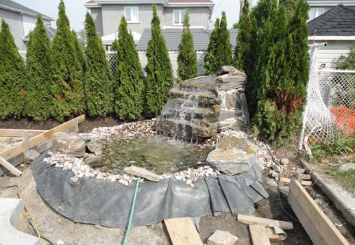 Chantiers murs tours et colonnes d 39 eau montr al for Eau verte bassin exterieur
